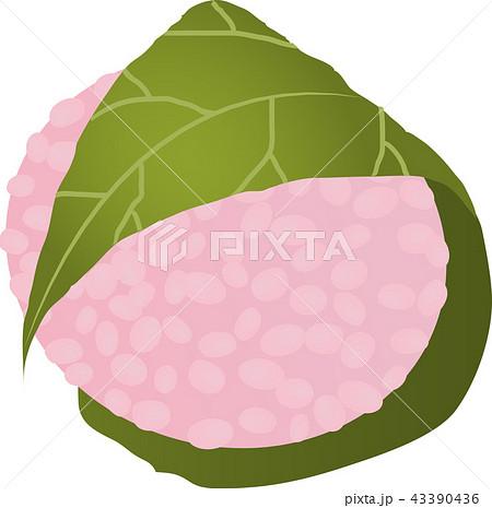 関西の桜餅 43390436