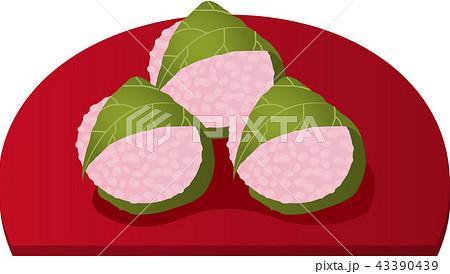 関西の桜餅 43390439