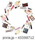 化粧品 メイクアップ 化粧のイラスト 43398712