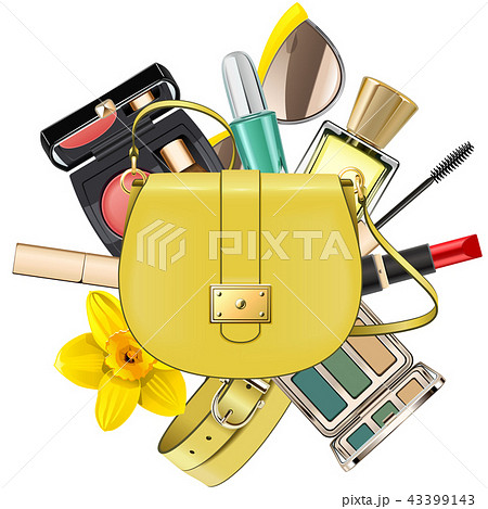 Vector Yellow Fashion Accessories Concept 43399143