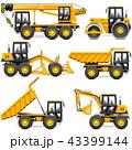 工事 建設 機械のイラスト 43399144