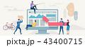 通信 概念 ネットワークのイラスト 43400715