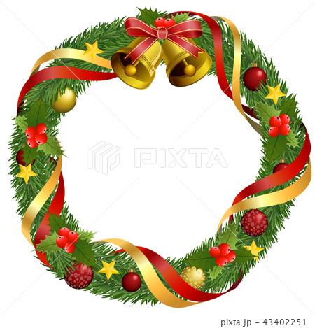 クリスマスリース 43402251