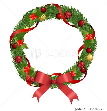 クリスマスリース 43402270