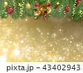 クリスマスデコレーション 43402943