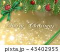 クリスマスデコレーション 43402955