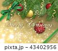 クリスマスデコレーション 43402956