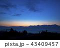 千望峠 朝焼け 風景の写真 43409457