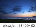 千望峠 朝焼け 風景の写真 43409462