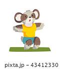 動物 コアラ マンガのイラスト 43412330