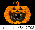 ハロウィン 燈篭 ランタンのイラスト 43412708