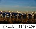 風力発電 風車 発電の写真 43414109