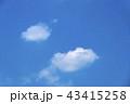 青空 空 晴れの写真 43415258