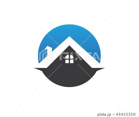 Home logo vector 43415350