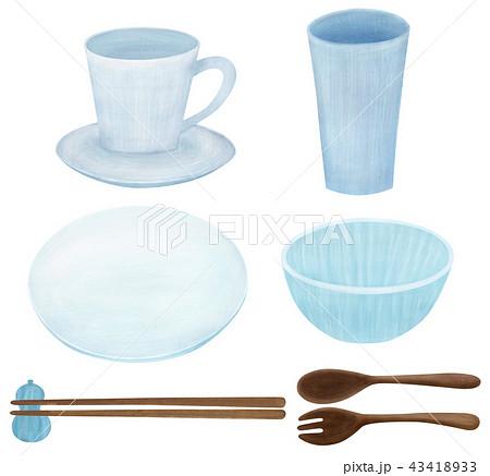手描き 食器 セット 43418933