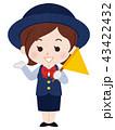 バスガイド 女性 43422432