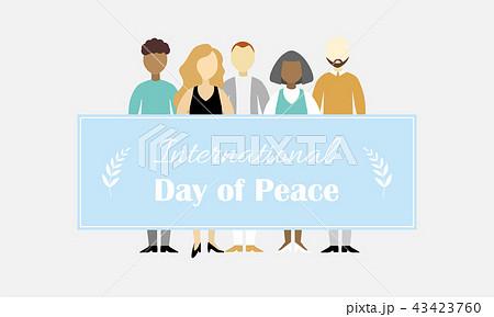 International Day of Peace vector illustration 43423760