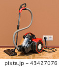掃除機 電機掃除機 立体のイラスト 43427076