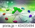 ネットワーク 通信 サーバーのイラスト 43435494