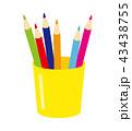 色鉛筆 ペンたて 43438755