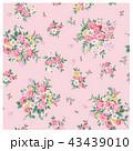 花 花柄 ブーケのイラスト 43439010