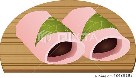 関東の桜餅 43439195