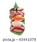 料理 描画 食のイラスト 43441079