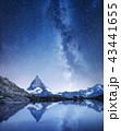 山 マッターホルン 湖の写真 43441655
