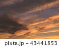 夕焼け 夕方 空の写真 43441853