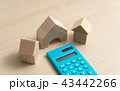 家 マイホーム ミニチュアの写真 43442266