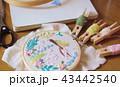 手芸 刺繍 裁縫の写真 43442540