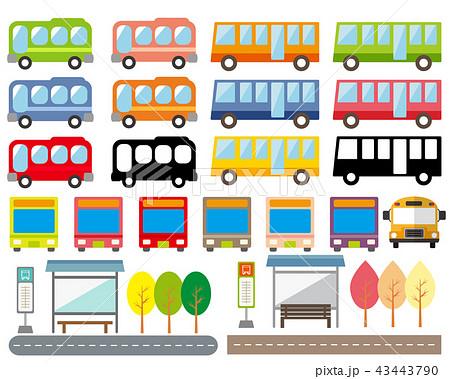 バス 43443790
