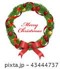 クリスマスリース 43444737