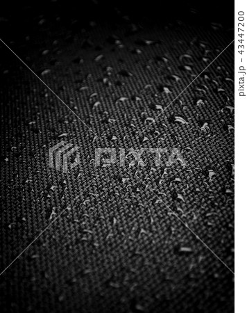 Water drops on fabric texture 43447200
