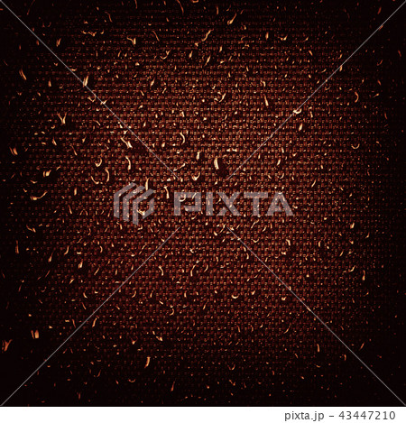 Water drops on fabric texture 43447210