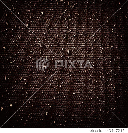Water drops on fabric texture 43447212