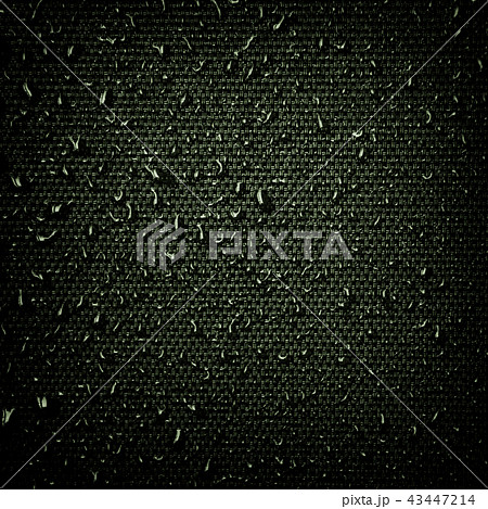 Water drops on fabric texture 43447214