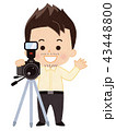 カメラマン 男性 43448800