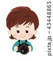 カメラマン 女性 43448863