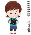 カメラマン 女性 43448866