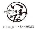 岩魚 いわな 筆文字 43449583