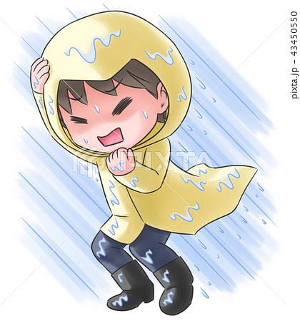 暴風雨vs雨合羽 43450550