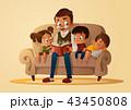 おじいさん お爺さん 祖父のイラスト 43450808