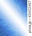 ブルーの抽象的なグラフィックテクスチャ 43452467