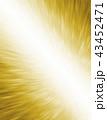 ゴールドの抽象的なグラフィックテクスチャ 43452471