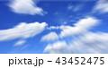 晴れた青空 43452475