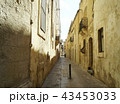 Empty alley in Rabat 43453033