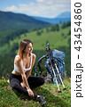女性 ハイキング 山歩きの写真 43454860