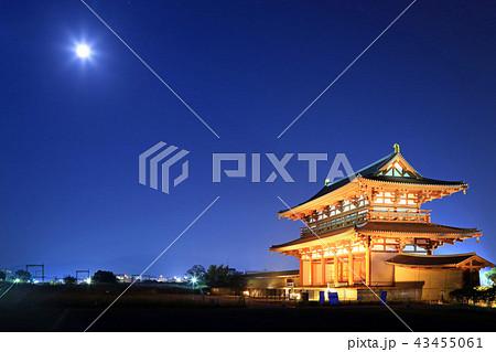 月夜の朱雀門 43455061
