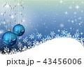 クリスマス背景 43456006